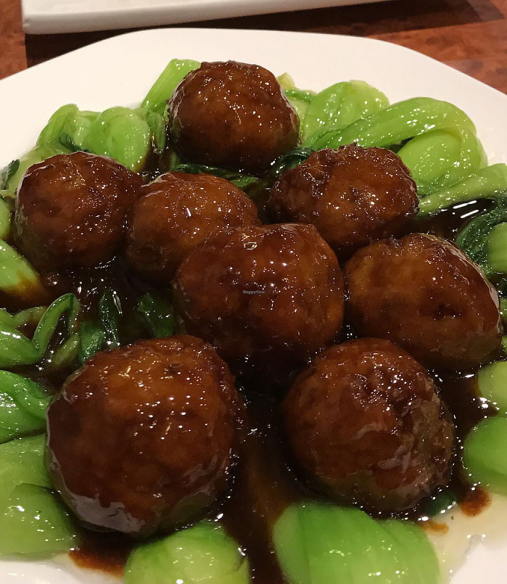 """Photo of Gong De Lin - Godly - Nanjing Rd  by <a href=""""/members/profile/Anjaneya"""">Anjaneya</a> <br/>""""Meatballs"""" and Greens <br/> May 6, 2017  - <a href='/contact/abuse/image/13/265239'>Report</a>"""