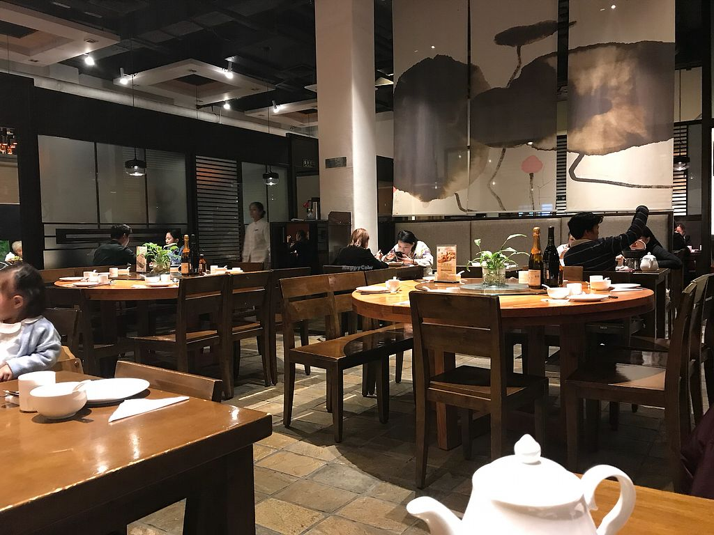 """Photo of Vegetarian Life Style - Zao Zi Shu - HuaiHai  by <a href=""""/members/profile/etylina"""">etylina</a> <br/>Inside the restaurant  <br/> October 25, 2017  - <a href='/contact/abuse/image/14/318776'>Report</a>"""