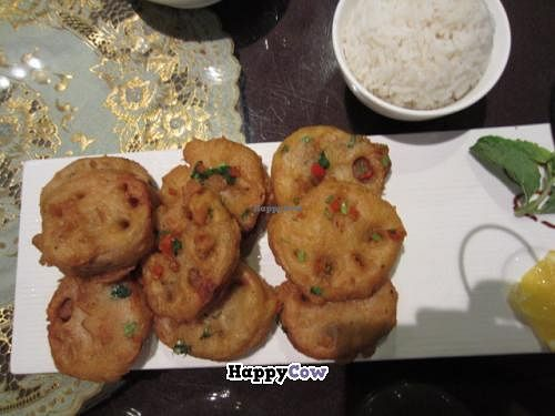 """Photo of Vegetarian Life Style - Zao Zi Shu - HuaiHai  by <a href=""""/members/profile/SP"""">SP</a> <br/>Vegetarian Lifestyle ~ lotus root, breaded and deep fried <br/> November 11, 2013  - <a href='/contact/abuse/image/14/58385'>Report</a>"""