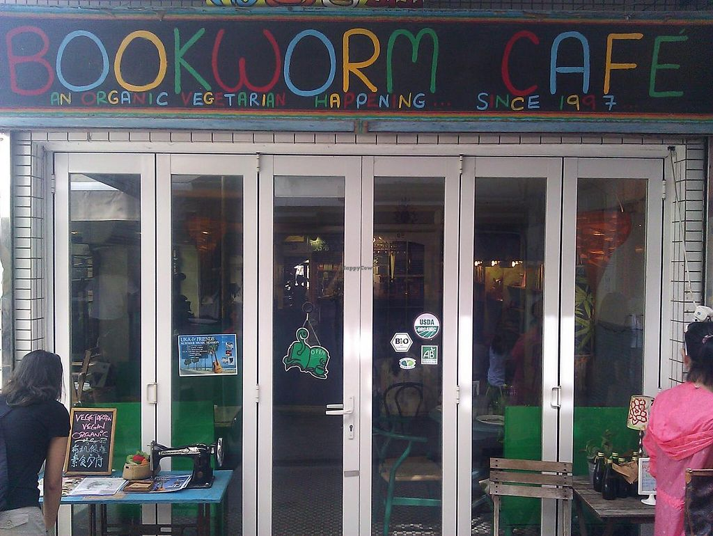"""Photo of Bookworm Cafe  by <a href=""""/members/profile/dicer"""">dicer</a> <br/>Outside <br/> August 28, 2014  - <a href='/contact/abuse/image/16/78451'>Report</a>"""
