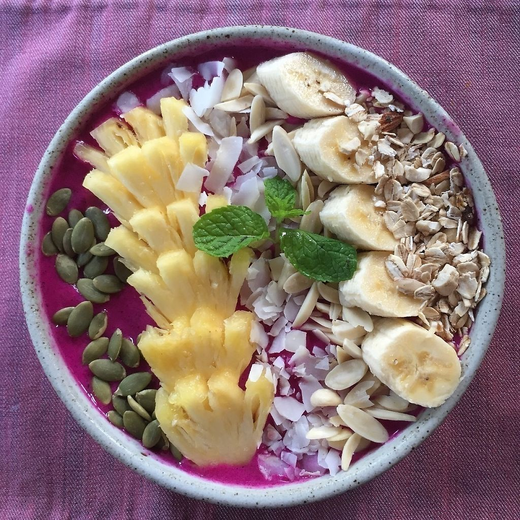 """Photo of Ubud Sari Health Resort  by <a href=""""/members/profile/Eefie"""">Eefie</a> <br/>Acai bowl <br/> May 31, 2017  - <a href='/contact/abuse/image/59/264393'>Report</a>"""