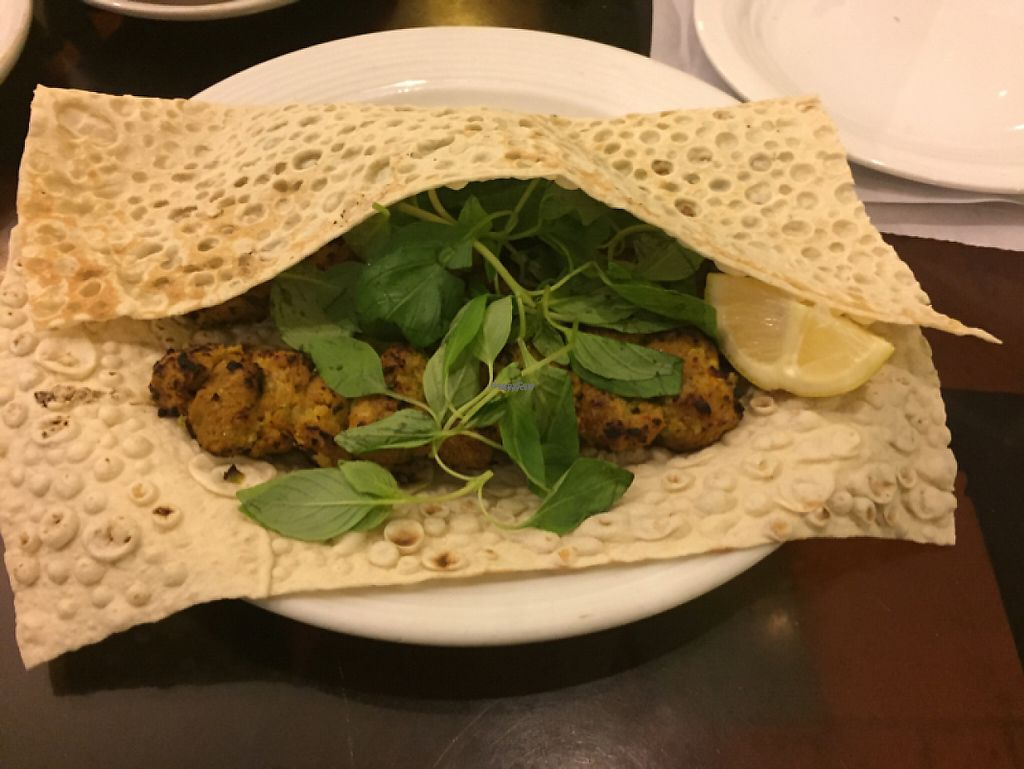 """Photo of Iranian Artist's Forum - Khaneh Honarmandan Iran  by <a href=""""/members/profile/H"""">H</a> <br/>kabab with flat bread <br/> January 8, 2017  - <a href='/contact/abuse/image/69/209667'>Report</a>"""