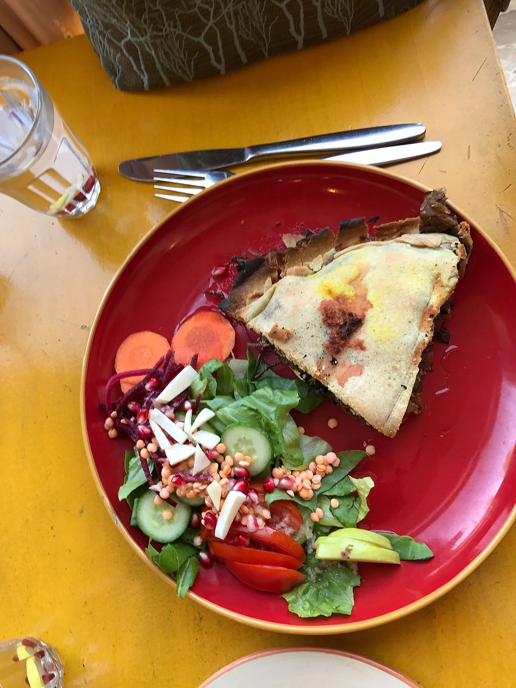 """Photo of Te'enim  by <a href=""""/members/profile/Brok%20O.%20Lee"""">Brok O. Lee</a> <br/>vegan mushroom-seaweed pie <br/> August 30, 2017  - <a href='/contact/abuse/image/74/298934'>Report</a>"""