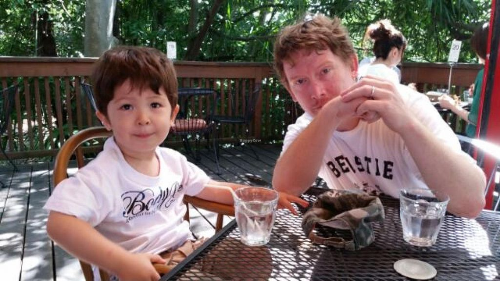 "Photo of Alishan Cafe  by <a href=""/members/profile/RBBaileyJr"">RBBaileyJr</a> <br/>My son and I at Alishan's <br/> February 20, 2015  - <a href='/contact/abuse/image/86/93611'>Report</a>"