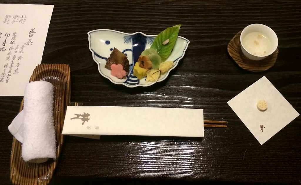 """Photo of Bon - Taito-ku  by <a href=""""/members/profile/Meggie%20and%20Ben"""">Meggie and Ben</a> <br/>Appetizer course <br/> May 4, 2014  - <a href='/contact/abuse/image/91/194574'>Report</a>"""