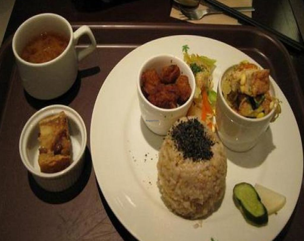 """Photo of CLOSED: Kushi Garden  by <a href=""""/members/profile/cvxmelody"""">cvxmelody</a> <br/>Lunch set plus dessert <br/> March 9, 2011  - <a href='/contact/abuse/image/100/194582'>Report</a>"""
