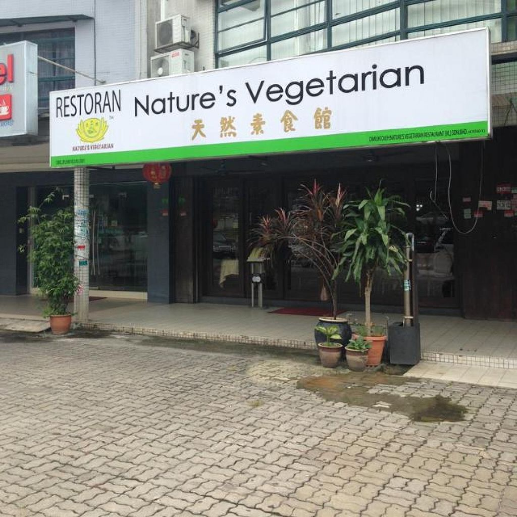 """Photo of Nature's Vegetarian Restaurant - Hartamas  by <a href=""""/members/profile/AndyT"""">AndyT</a> <br/>Outside view <br/> May 22, 2014  - <a href='/contact/abuse/image/117/70510'>Report</a>"""