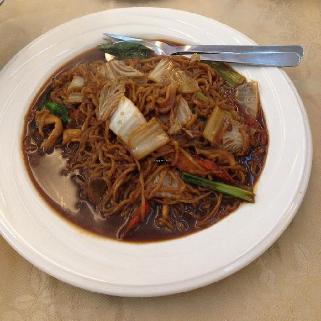 """Photo of Nature's Vegetarian Restaurant - Hartamas  by <a href=""""/members/profile/AndyT"""">AndyT</a> <br/>Noodles <br/> May 22, 2014  - <a href='/contact/abuse/image/117/70512'>Report</a>"""