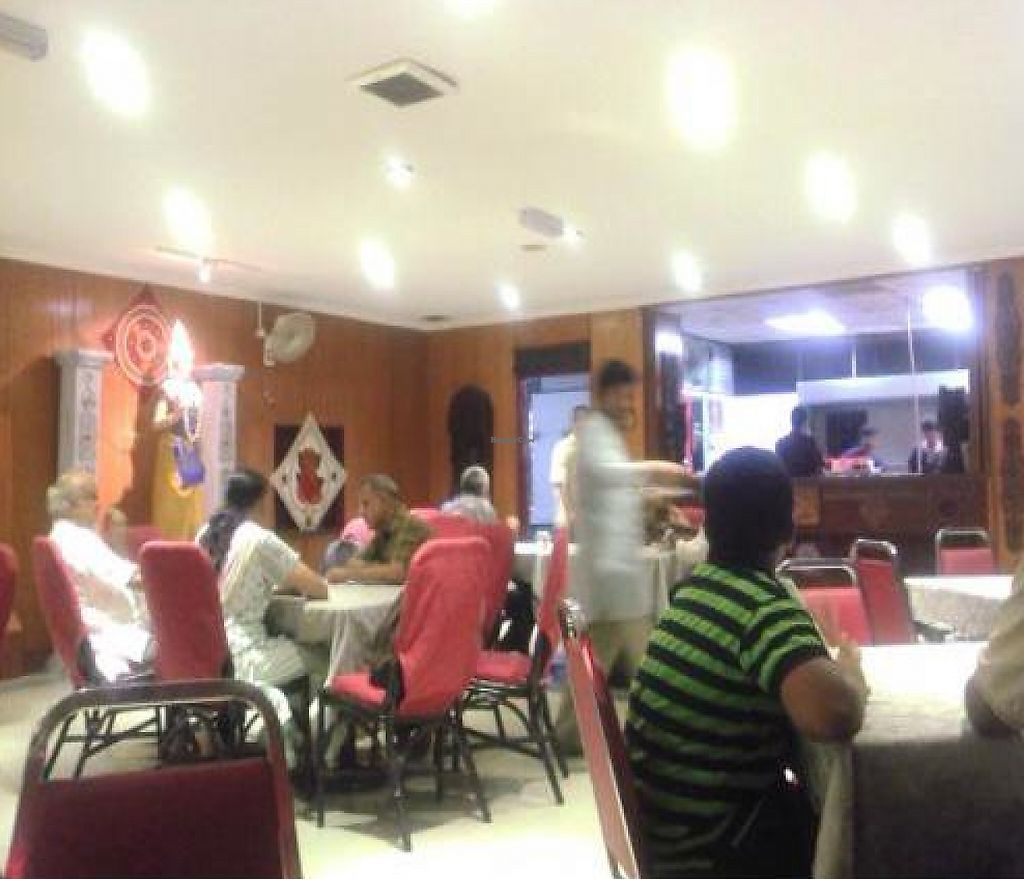 """Photo of Annalakshmi Temple of Fine Arts  by <a href=""""/members/profile/Grapevine"""">Grapevine</a> <br/>SPACIOUS SEMI OPEN AIR DINING HALL <br/> November 27, 2011  - <a href='/contact/abuse/image/129/194735'>Report</a>"""
