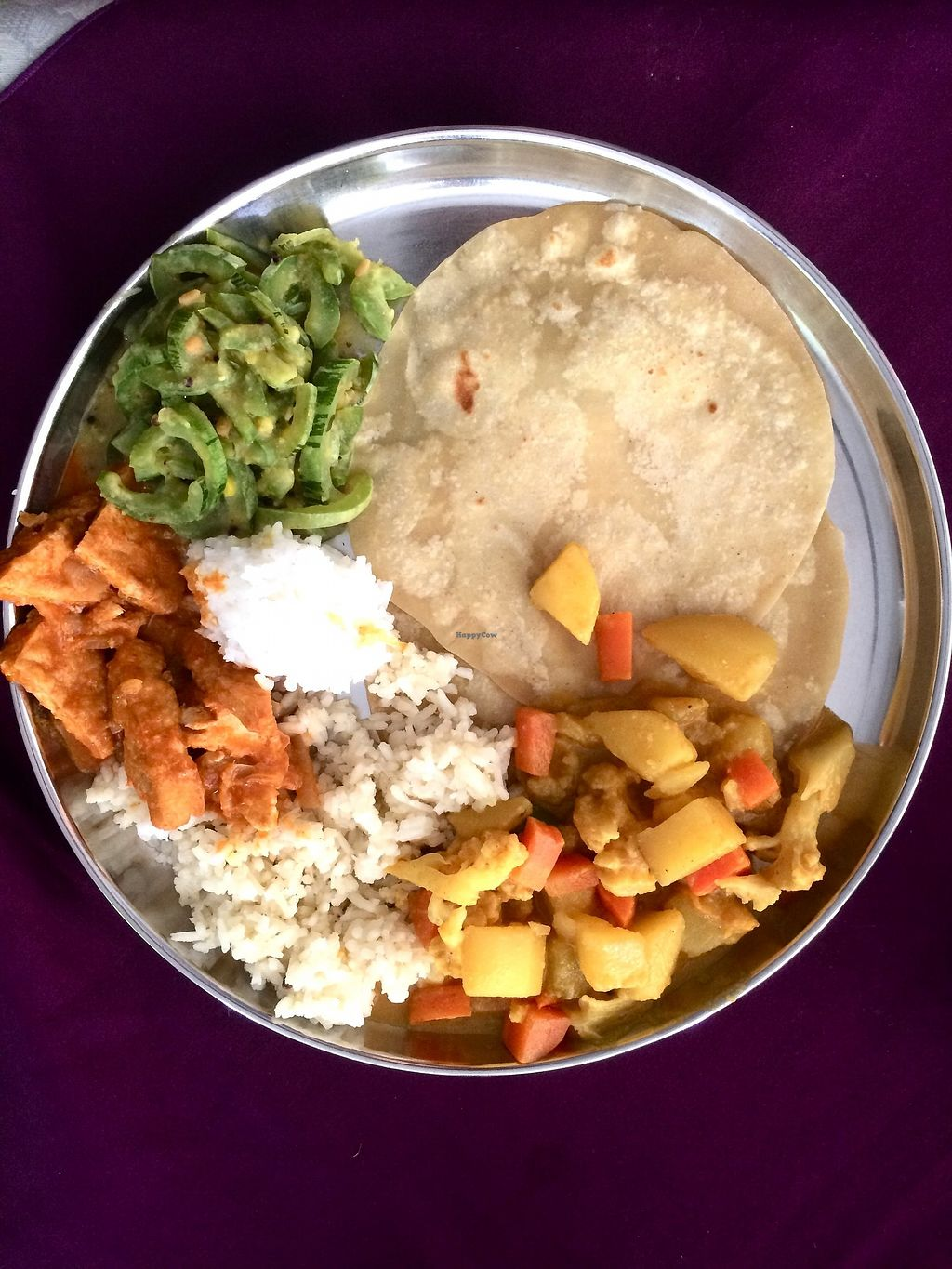 """Photo of Annalakshmi Temple of Fine Arts  by <a href=""""/members/profile/LaurenceMontreuil"""">LaurenceMontreuil</a> <br/>Set meal <br/> January 23, 2018  - <a href='/contact/abuse/image/129/350051'>Report</a>"""
