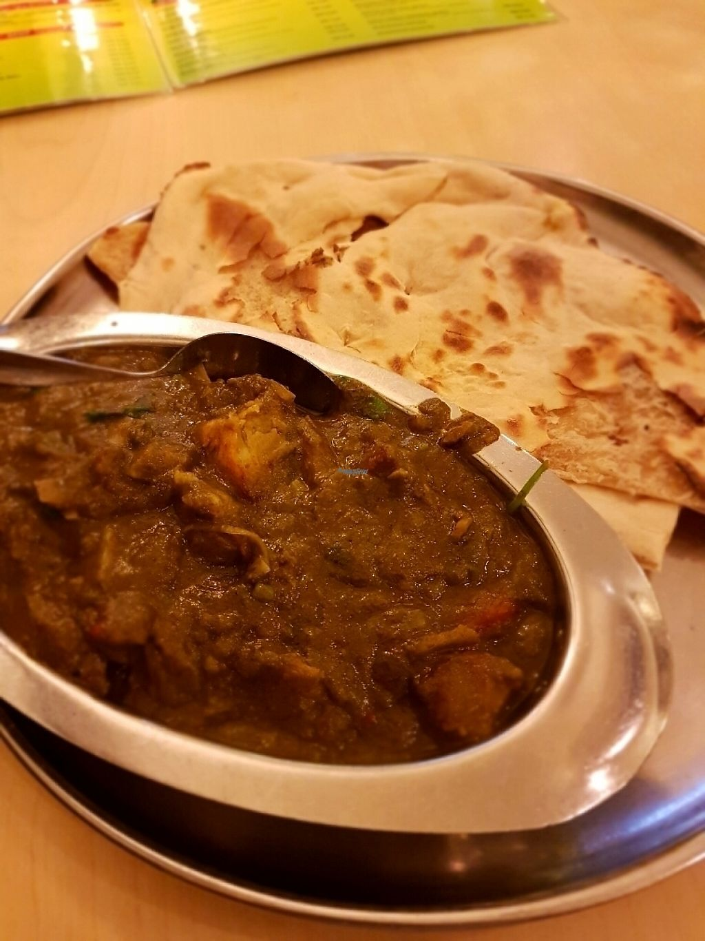 """Photo of Woodlands  by <a href=""""/members/profile/tantantan"""">tantantan</a> <br/>Potato spinach curry <br/> January 24, 2017  - <a href='/contact/abuse/image/141/215606'>Report</a>"""