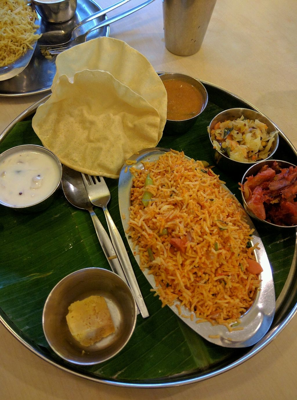 """Photo of Woodlands  by <a href=""""/members/profile/Summer_Tan"""">Summer_Tan</a> <br/>Briyani Set - RM10.00 Good portion of flavourful briyani rice and side dishes <br/> January 29, 2018  - <a href='/contact/abuse/image/141/352511'>Report</a>"""