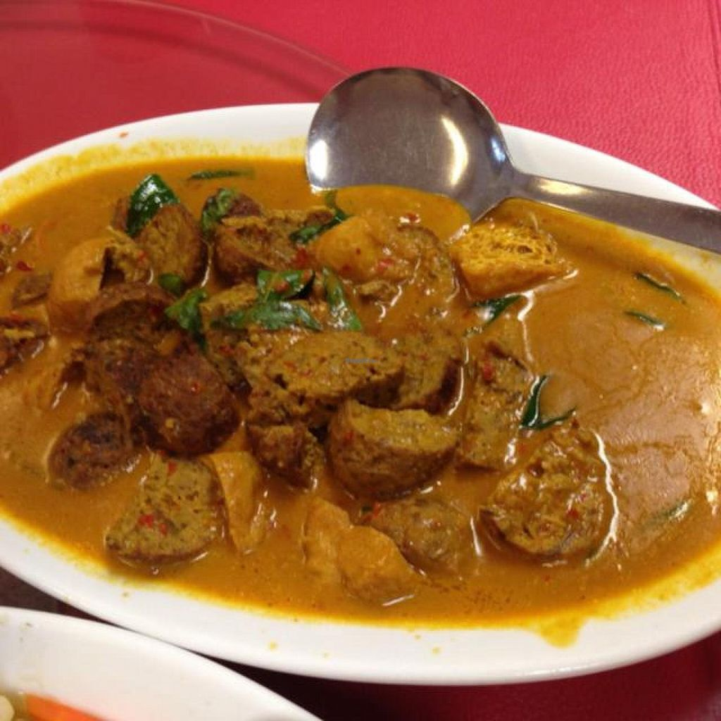"Photo of NEU Vegetarian Restaurant  by <a href=""/members/profile/AndyT"">AndyT</a> <br/>Curry lamb, medium size <br/> April 1, 2014  - <a href='/contact/abuse/image/154/66826'>Report</a>"