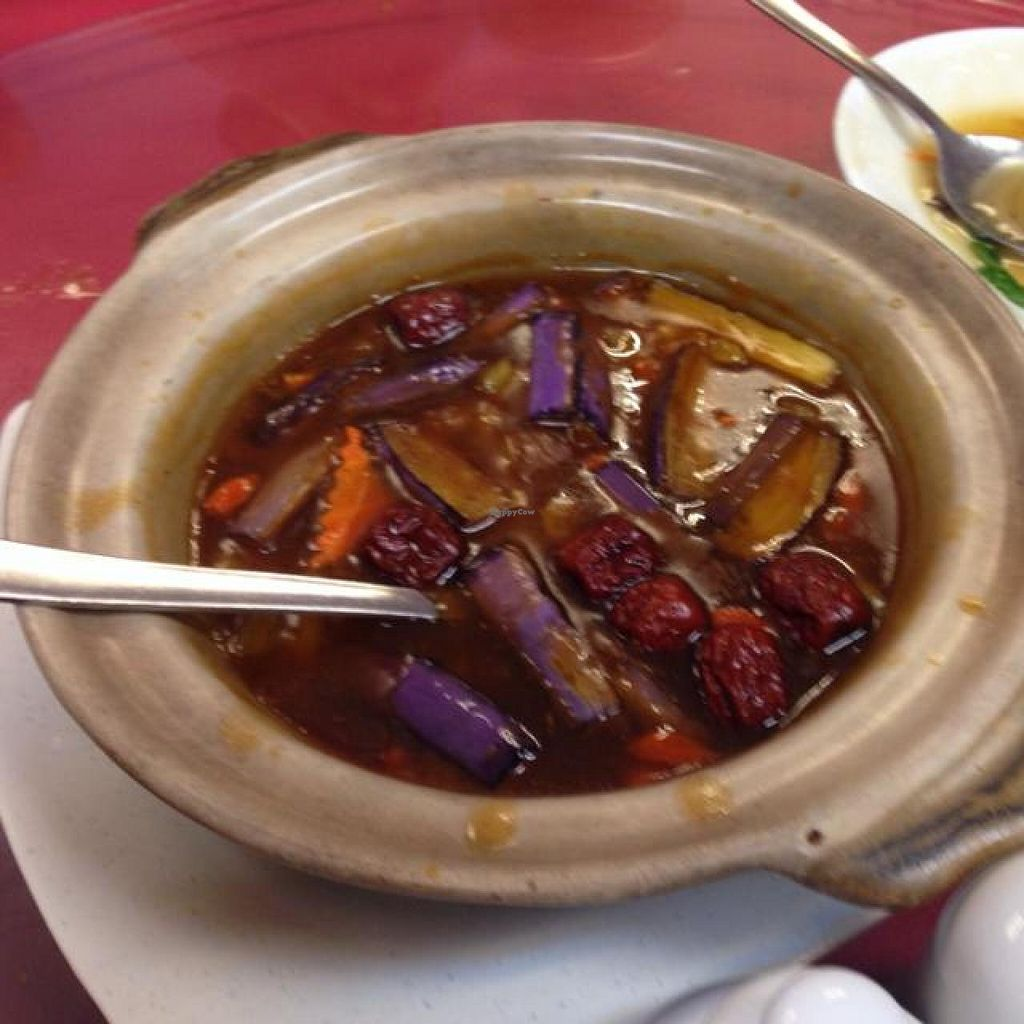 "Photo of NEU Vegetarian Restaurant  by <a href=""/members/profile/AndyT"">AndyT</a> <br/>Clayppt eggplant <br/> April 1, 2014  - <a href='/contact/abuse/image/154/66827'>Report</a>"