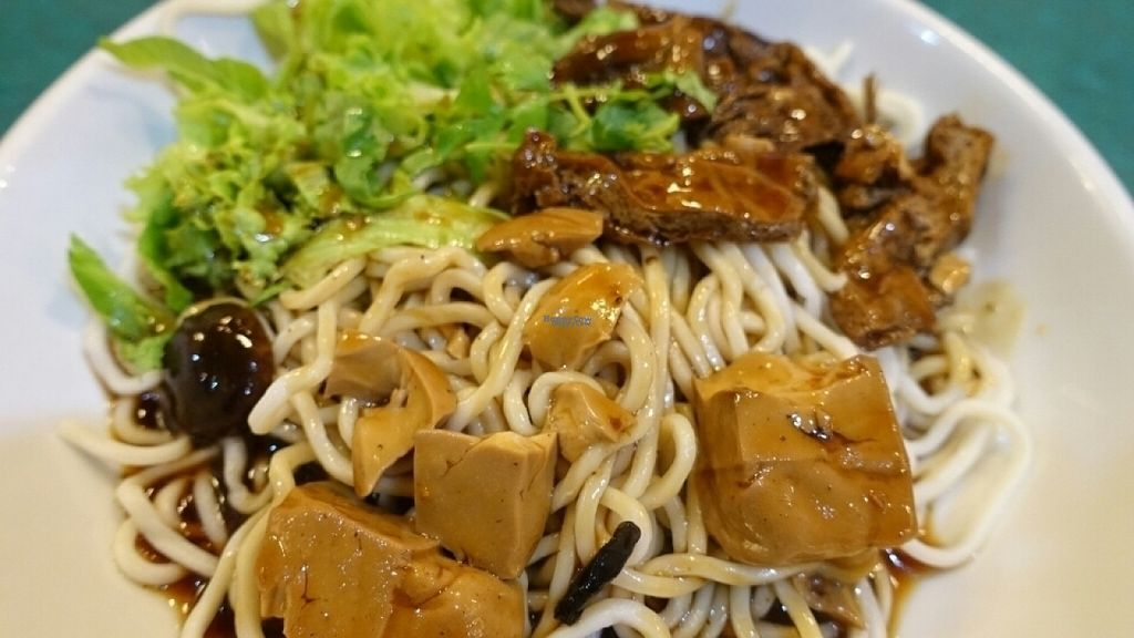 """Photo of Ci Yan Vegetarian Health Food  by <a href=""""/members/profile/JimmySeah"""">JimmySeah</a> <br/>Braised mushroom duck noodle <br/> August 9, 2016  - <a href='/contact/abuse/image/182/167198'>Report</a>"""
