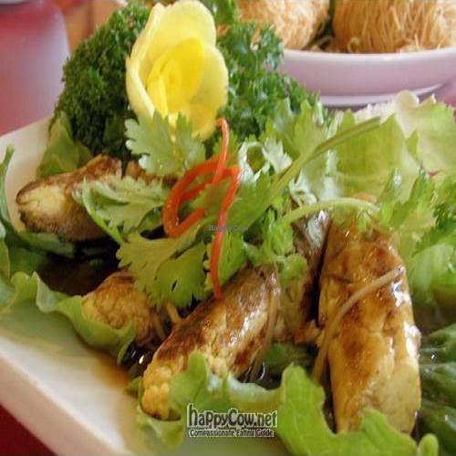 """Photo of Fo You Yuan Vegetarian  by <a href=""""/members/profile/Peace%20..."""">Peace ...</a> <br/>Sugar Cane Flower - A RARE and Special Dish  <br/> March 14, 2010  - <a href='/contact/abuse/image/190/4015'>Report</a>"""