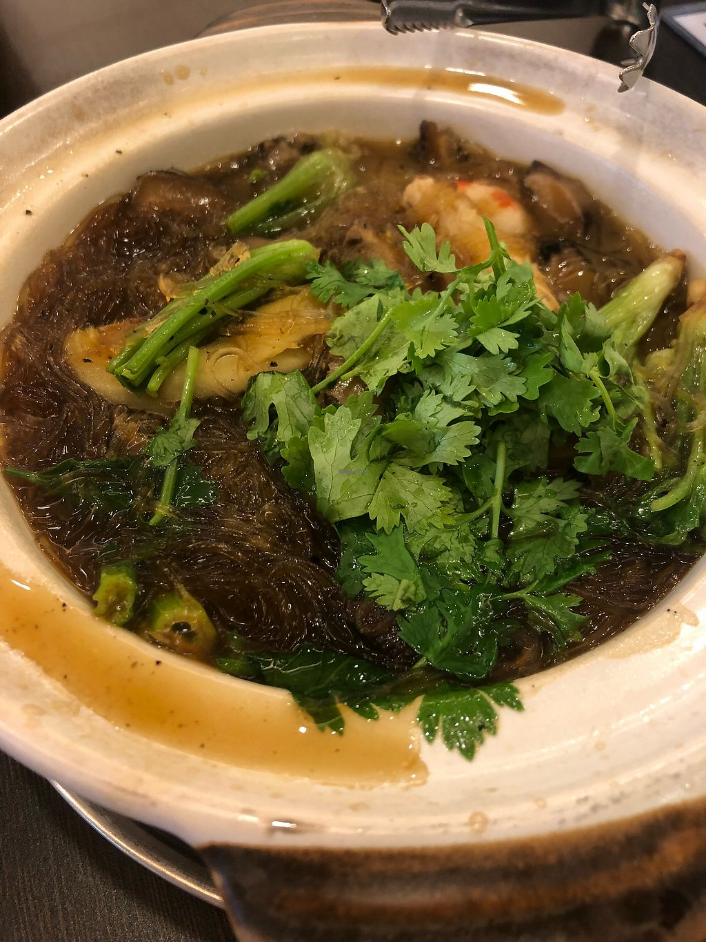 "Photo of Greenland Vegetarian Restaurant  by <a href=""/members/profile/AmyLeySzeThoo"">AmyLeySzeThoo</a> <br/>Claypot Tang Hoon <br/> April 10, 2018  - <a href='/contact/abuse/image/196/383108'>Report</a>"