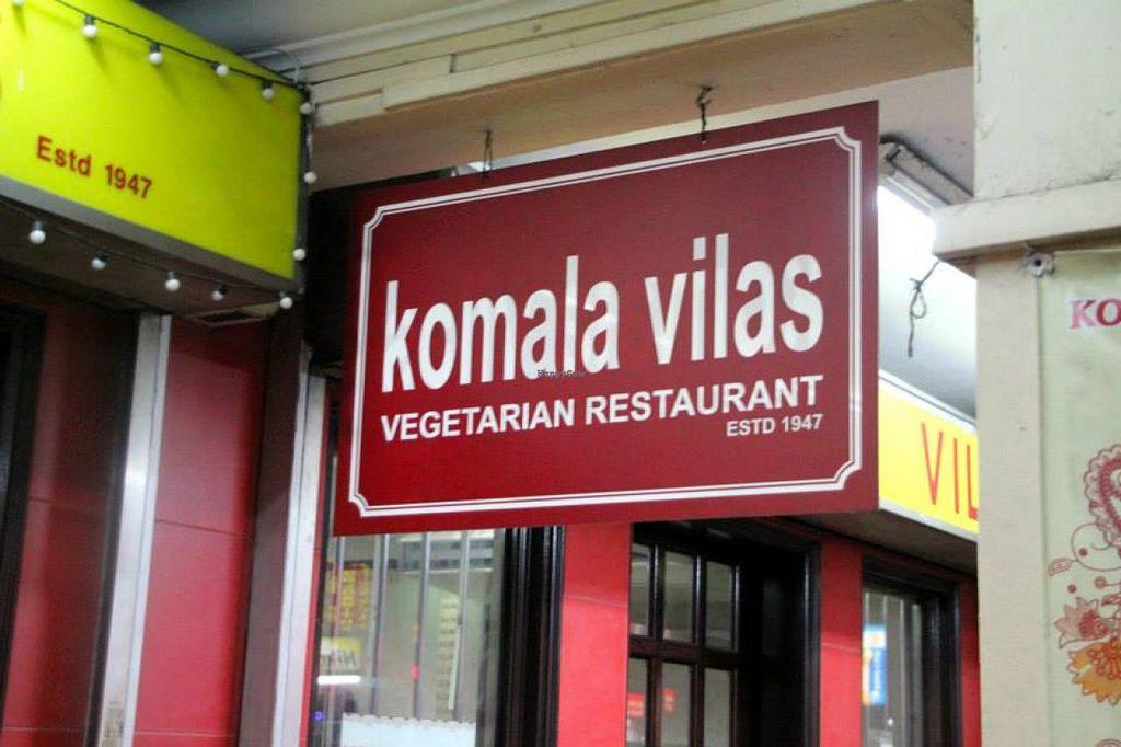 "Photo of Komala Vilas Restaurant  by <a href=""/members/profile/Lea"">Lea</a> <br/>Komala Vilas <br/> October 15, 2014  - <a href='/contact/abuse/image/205/83006'>Report</a>"