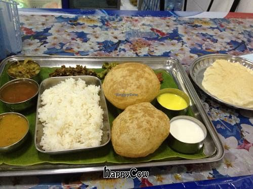 "Photo of Chennai Kitchen  by <a href=""/members/profile/Vegetableweirdo"">Vegetableweirdo</a> <br/>Thali <br/> December 10, 2012  - <a href='/contact/abuse/image/332/41469'>Report</a>"