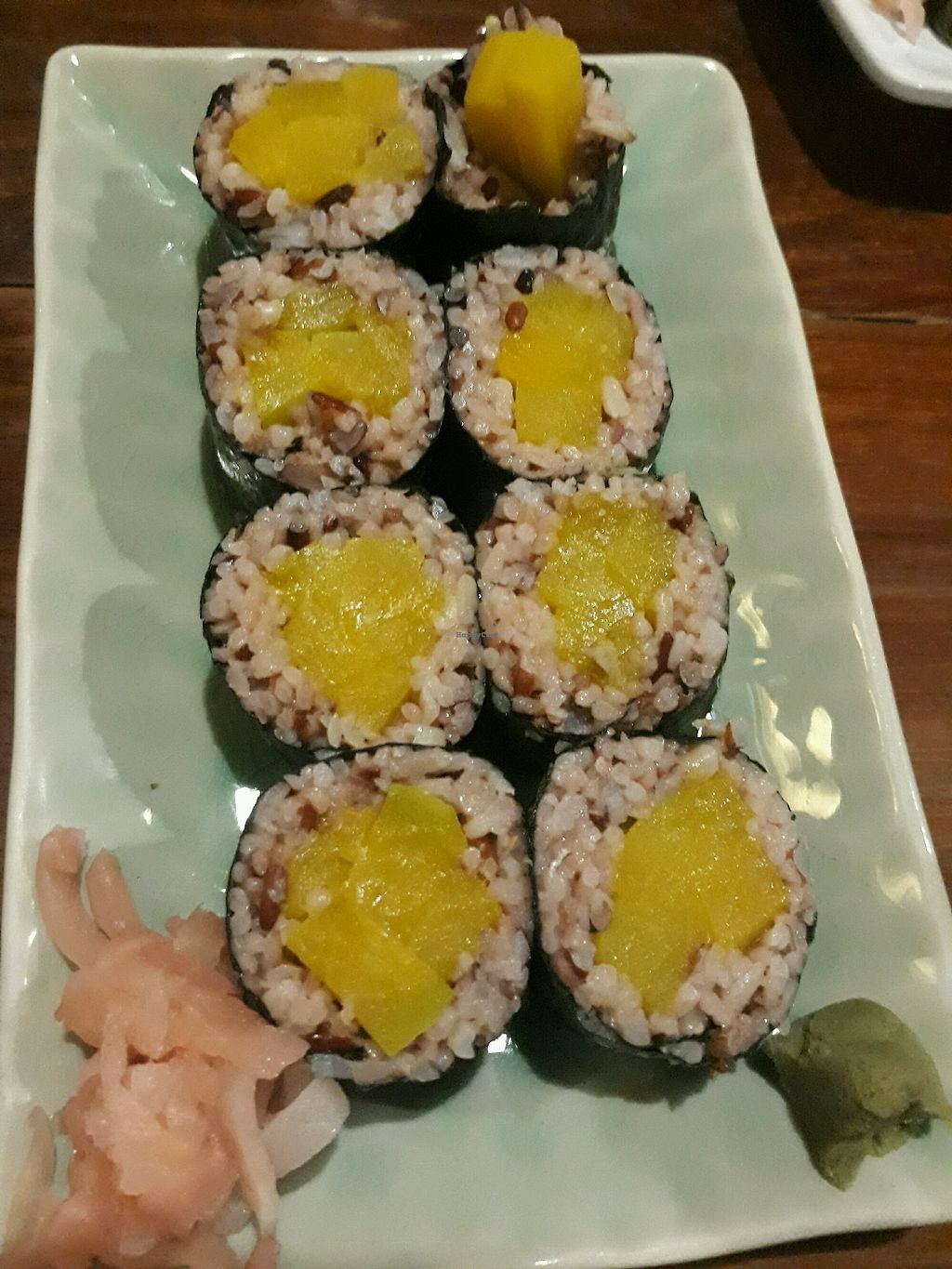 """Photo of Aum  by <a href=""""/members/profile/LilacHippy"""">LilacHippy</a> <br/>Pumpkin sushi <br/> September 25, 2017  - <a href='/contact/abuse/image/360/308061'>Report</a>"""