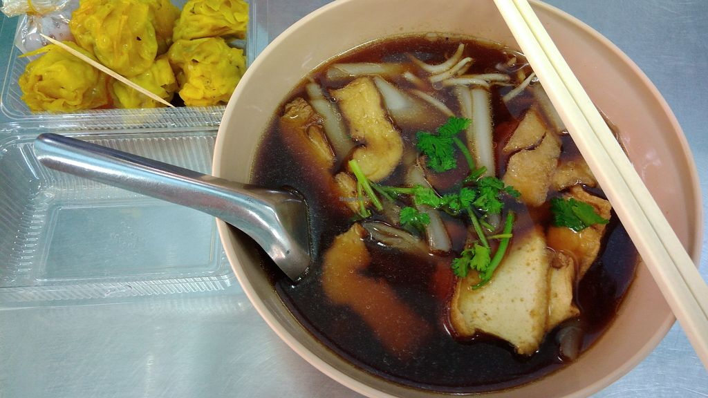 """Photo of Num Heng Vegetarian  by <a href=""""/members/profile/ChoyYuen"""">ChoyYuen</a> <br/>Kuay chap (rice noodle soup) <br/> May 20, 2018  - <a href='/contact/abuse/image/378/402346'>Report</a>"""