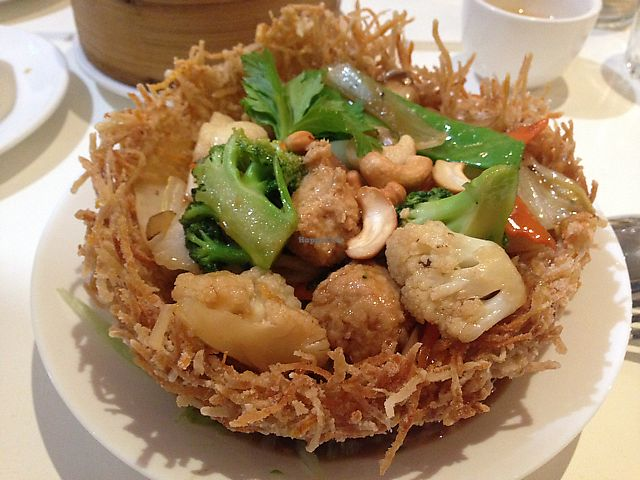 """Photo of Kingsland. Healthy Vegan Restaurant  by <a href=""""/members/profile/tulips.and.trains"""">tulips.and.trains</a> <br/>Bird's nest! eat it!!! <br/> September 17, 2017  - <a href='/contact/abuse/image/389/305338'>Report</a>"""