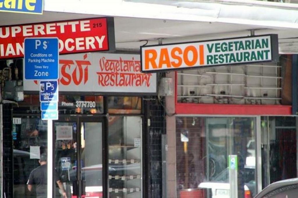 "Photo of Rasoi Vegetarian Restaurant  by <a href=""/members/profile/Lea"">Lea</a> <br/>Shopfront <br/> January 7, 2014  - <a href='/contact/abuse/image/400/62018'>Report</a>"