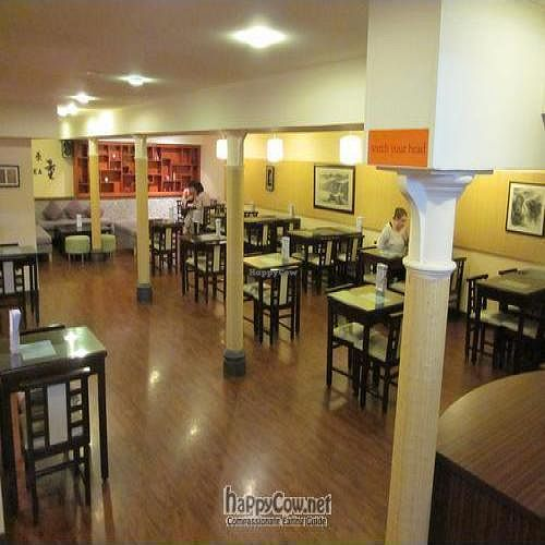 """Photo of Thea Vegetarian Tea Garden  by <a href=""""/members/profile/MaitreyaBelmore"""">MaitreyaBelmore</a> <br/>Lower Ground Floor - a spacious dining room <br/> May 9, 2010  - <a href='/contact/abuse/image/455/4448'>Report</a>"""