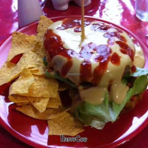 """Photo of Vego and Love'n it  by <a href=""""/members/profile/xtinargh"""">xtinargh</a> <br/>mexican burger <br/> September 2, 2012  - <a href='/contact/abuse/image/460/37419'>Report</a>"""
