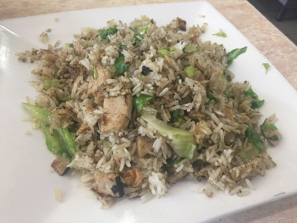 """Photo of An Lac Vegan  by <a href=""""/members/profile/Tiggy"""">Tiggy</a> <br/>Fried rice with (vegan) fish <br/> July 12, 2017  - <a href='/contact/abuse/image/473/279347'>Report</a>"""