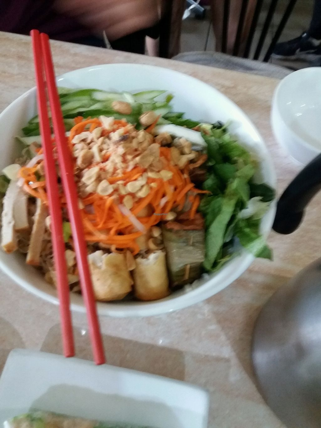 """Photo of An Lac Vegan  by <a href=""""/members/profile/veganvirtues"""">veganvirtues</a> <br/>some kind of pho <br/> December 26, 2017  - <a href='/contact/abuse/image/473/339108'>Report</a>"""