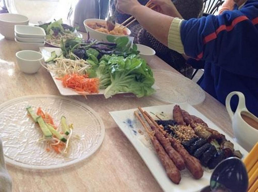 """Photo of An Lac Vegan  by <a href=""""/members/profile/To%20wish"""">To wish</a> <br/>The spring roll spread <br/> July 5, 2014  - <a href='/contact/abuse/image/473/73303'>Report</a>"""