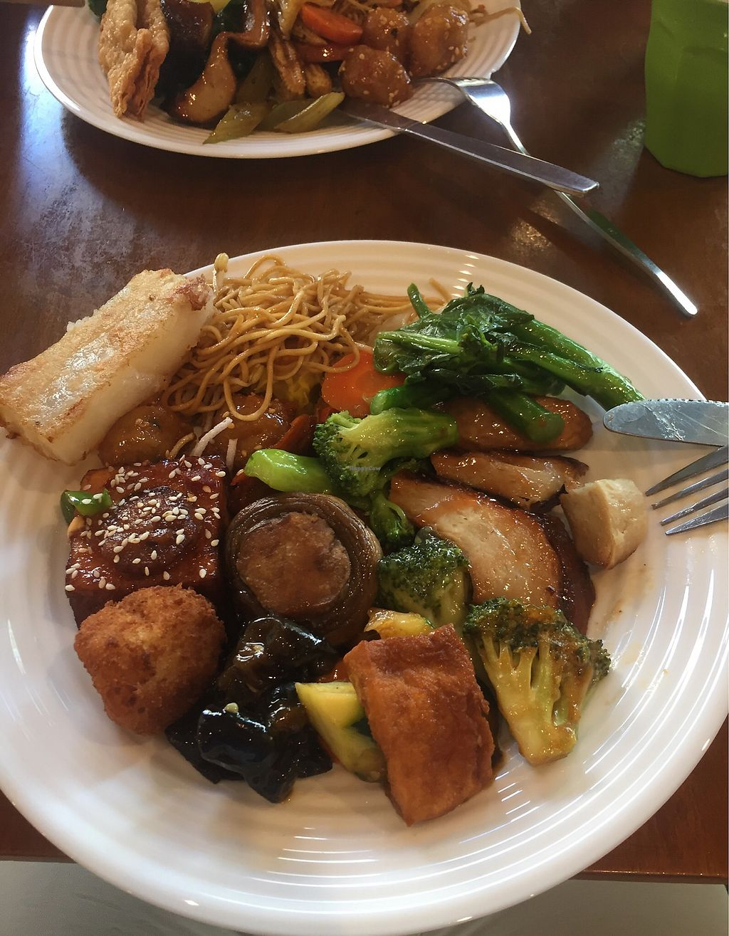 "Photo of Green Gourmet  by <a href=""/members/profile/jakeadamlee"">jakeadamlee</a> <br/>The white rectangle thing wasn't good. The duck thing was very convincing! <br/> October 31, 2017  - <a href='/contact/abuse/image/482/320350'>Report</a>"