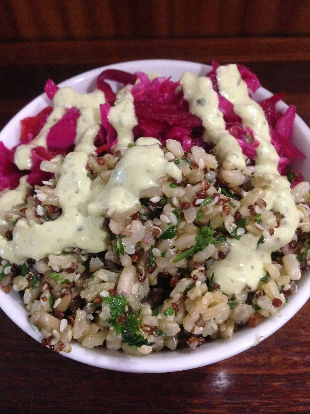 """Photo of Iku Wholefood Kitchen  by <a href=""""/members/profile/2lentilforyou"""">2lentilforyou</a> <br/>Two salads <br/> September 10, 2017  - <a href='/contact/abuse/image/487/302791'>Report</a>"""
