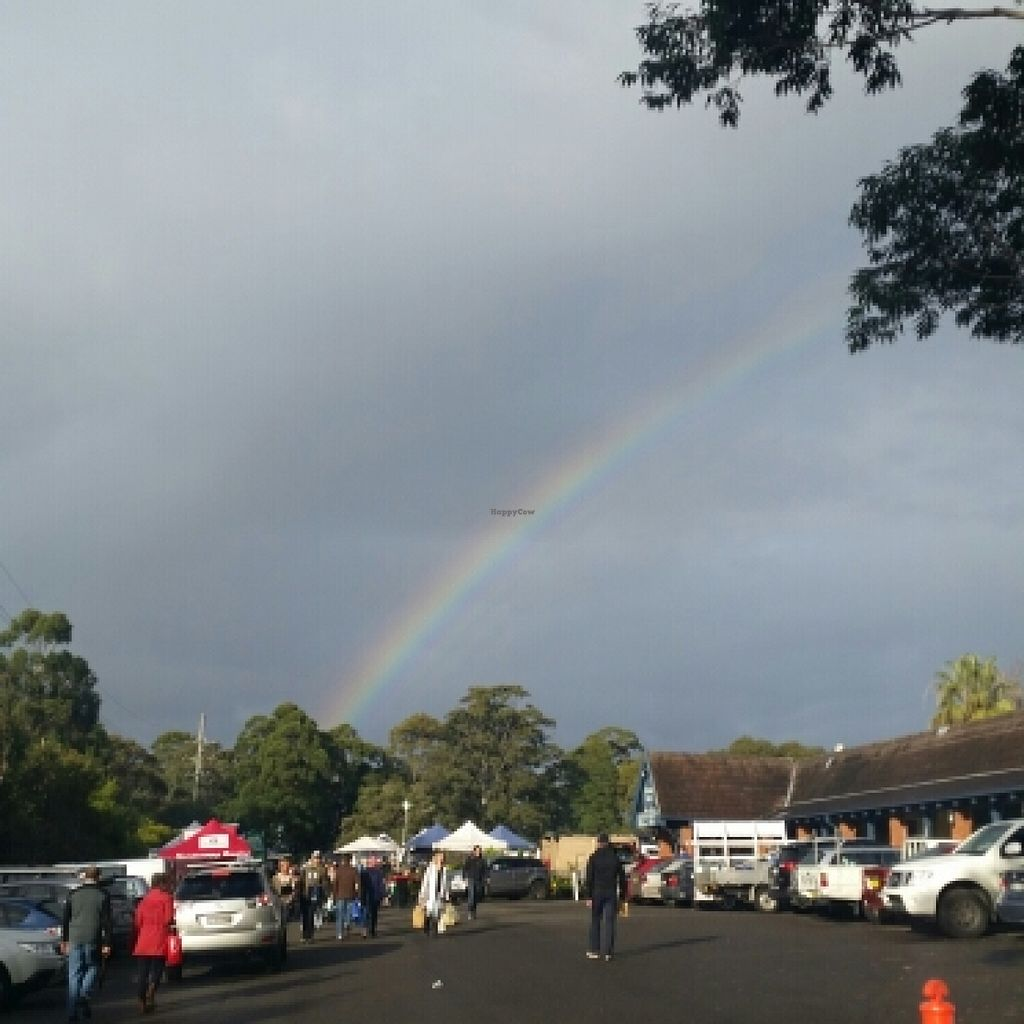 """Photo of Organic Foods and Farmers' Market  by <a href=""""/members/profile/Keelynm"""">Keelynm</a> <br/>beautiful rainbow at the markets <br/> November 20, 2015  - <a href='/contact/abuse/image/511/125656'>Report</a>"""