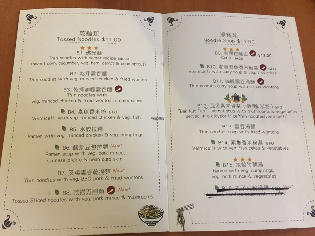 """Photo of Fo Guang Yuan  by <a href=""""/members/profile/Tiggy"""">Tiggy</a> <br/>Menu - September 2016 <br/> September 19, 2016  - <a href='/contact/abuse/image/534/176907'>Report</a>"""