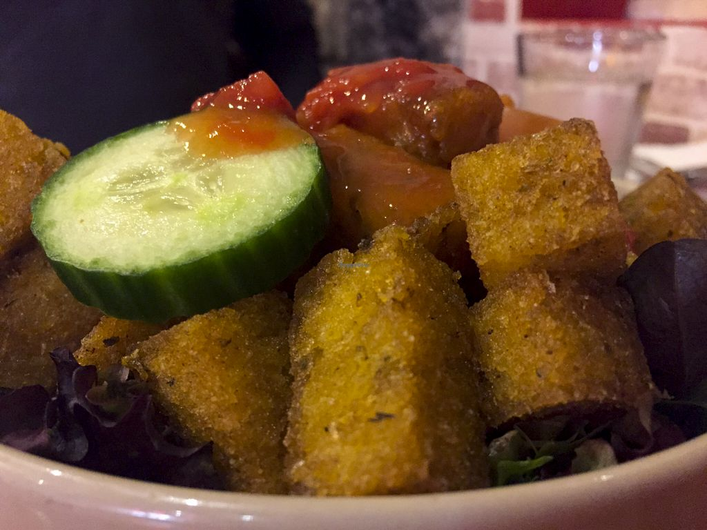 """Photo of Global Vegetarian - Ormond  by <a href=""""/members/profile/karlaess"""">karlaess</a> <br/>Polenta Chips <br/> August 8, 2015  - <a href='/contact/abuse/image/535/112746'>Report</a>"""