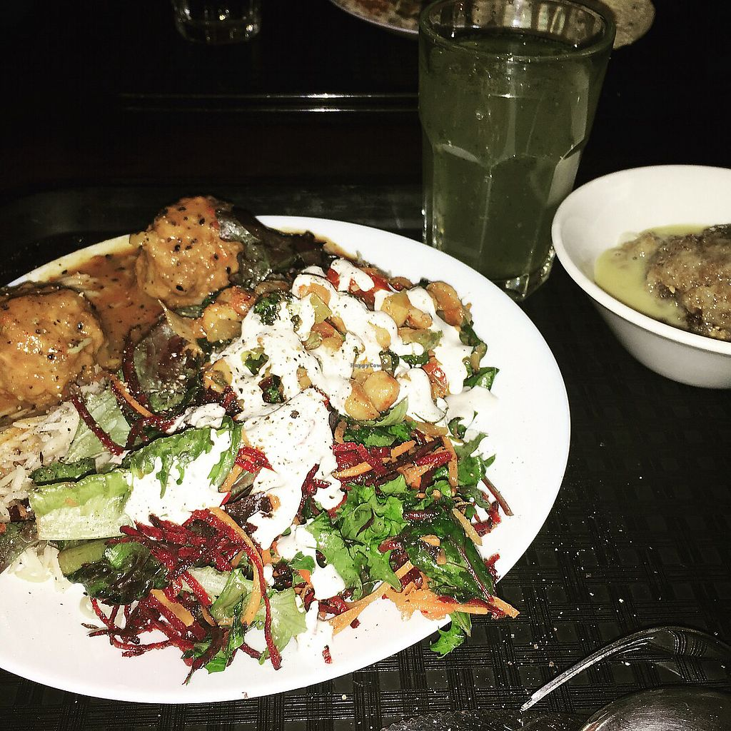 "Photo of Gopal's  by <a href=""/members/profile/TattooedVegan"">TattooedVegan</a> <br/>Vegan platter - A abundance of food $ <br/> November 26, 2017  - <a href='/contact/abuse/image/536/329266'>Report</a>"