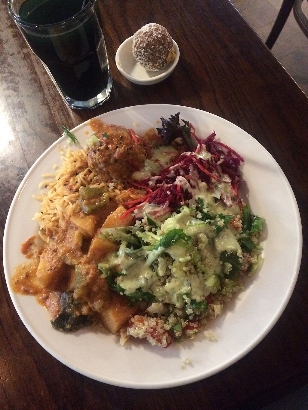 "Photo of Gopal's  by <a href=""/members/profile/CharlieHanna"">CharlieHanna</a> <br/>Vegan platter !!! <br/> December 30, 2017  - <a href='/contact/abuse/image/536/340772'>Report</a>"