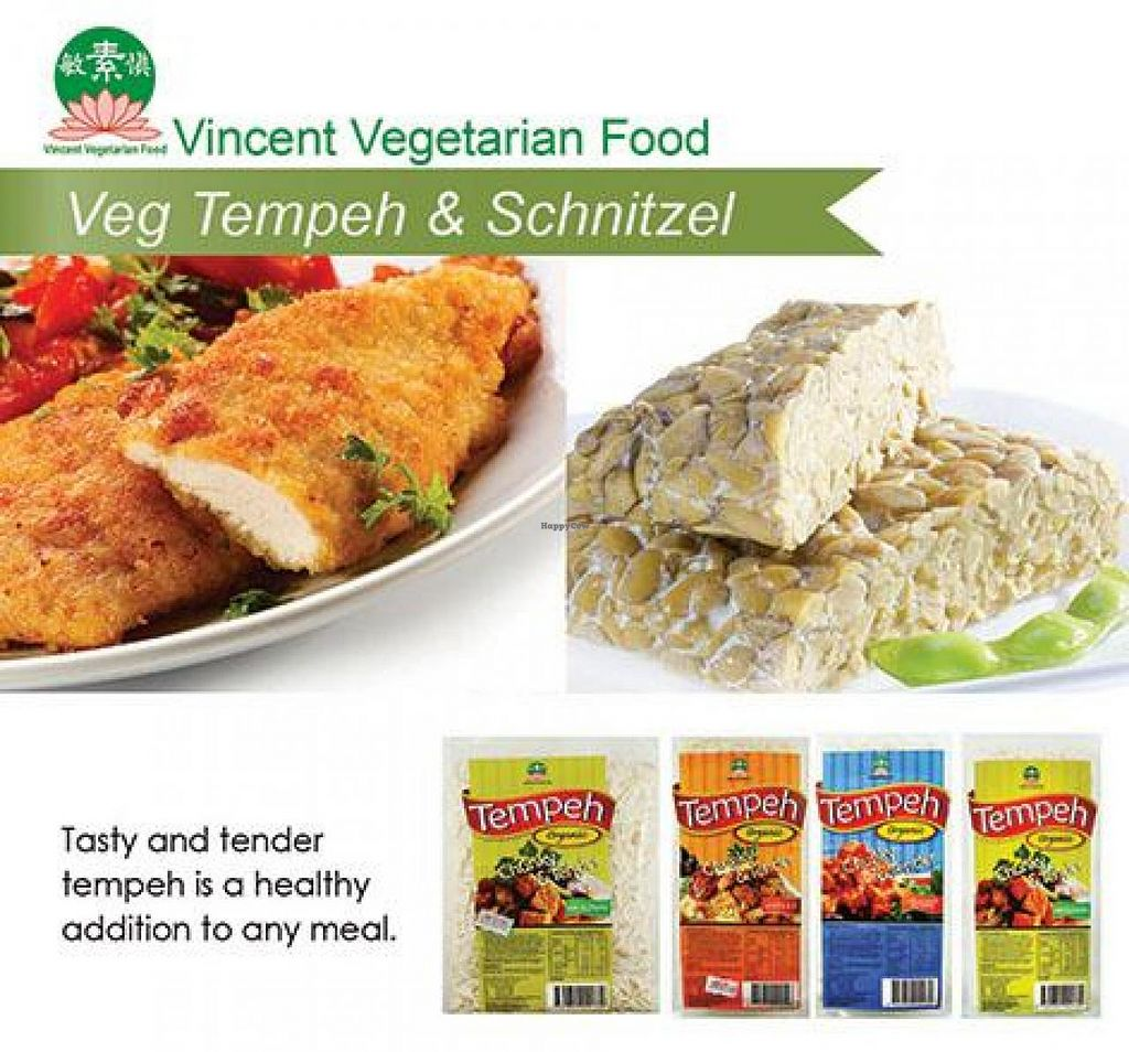 """Photo of Vincent Vegetarian Food  by <a href=""""/members/profile/Vincent"""">Vincent</a> <br/>Vincent vegetarian food organic tempeh is a delicious and healthy addition to any meal. It is tender, tasty and packed with soy protein <br/> September 22, 2014  - <a href='/contact/abuse/image/552/80774'>Report</a>"""