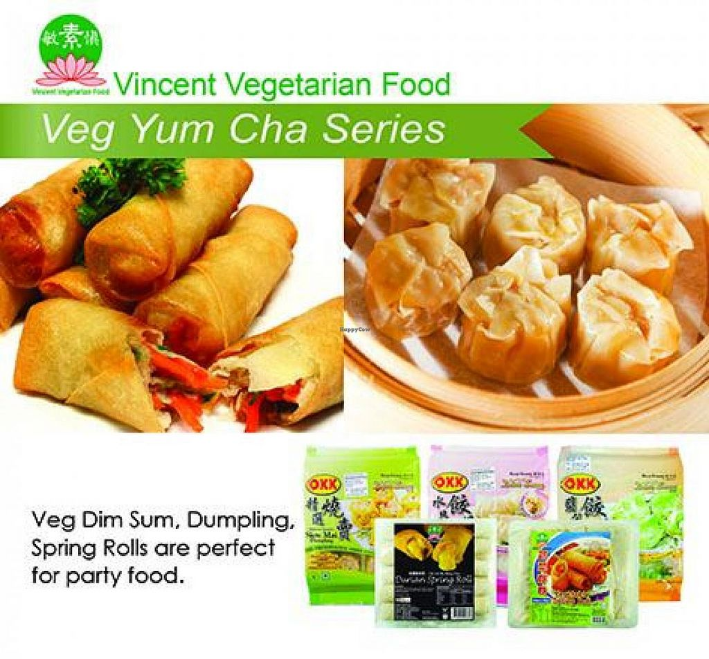"""Photo of Vincent Vegetarian Food  by <a href=""""/members/profile/Vincent"""">Vincent</a> <br/>Vegetarian or Vegan Snacks Veg buns, dumpling, dim sum, satay, spring rolls and more. They are perfect for party food <br/> September 22, 2014  - <a href='/contact/abuse/image/552/80775'>Report</a>"""
