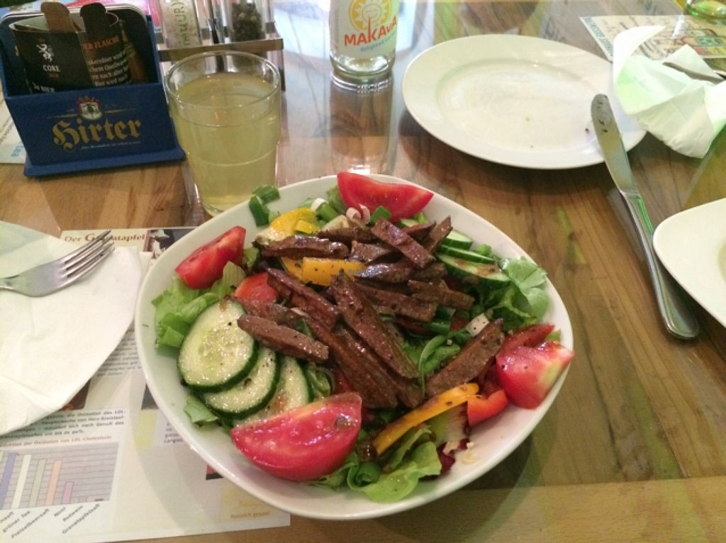 """Photo of CLOSED: Bio Bar von Antun  by <a href=""""/members/profile/ottofirn"""">ottofirn</a> <br/>salad with seitan  <br/> September 22, 2015  - <a href='/contact/abuse/image/577/118740'>Report</a>"""