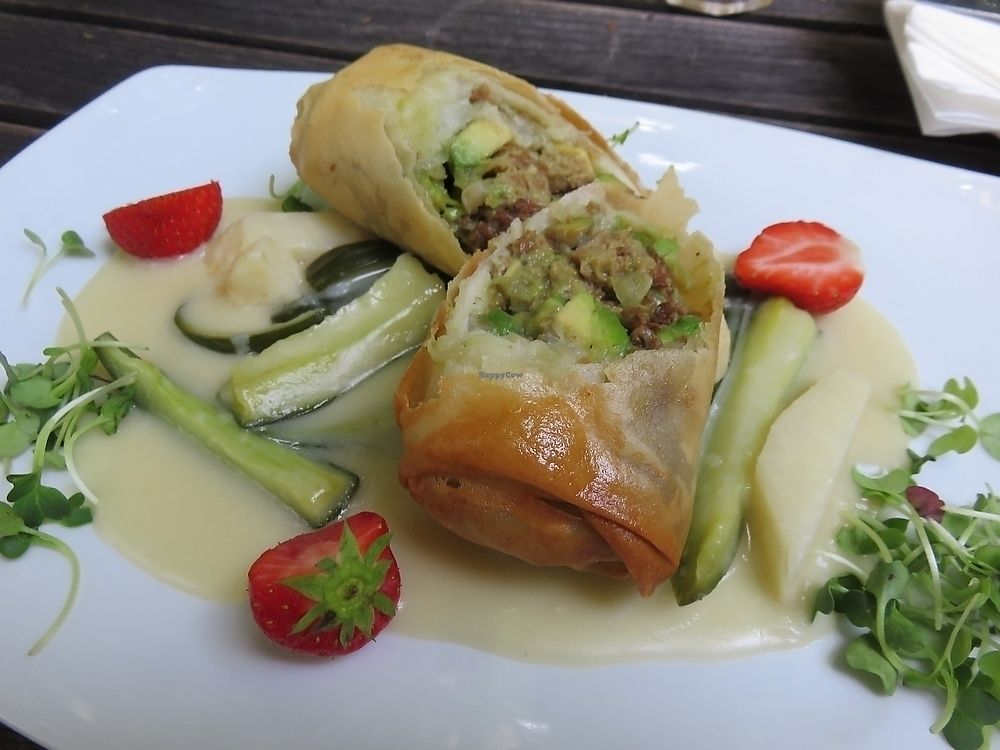 """Photo of Hollerei  by <a href=""""/members/profile/TrudiBruges"""">TrudiBruges</a> <br/>seitan roulade, 14,90€ <br/> November 29, 2017  - <a href='/contact/abuse/image/584/330580'>Report</a>"""