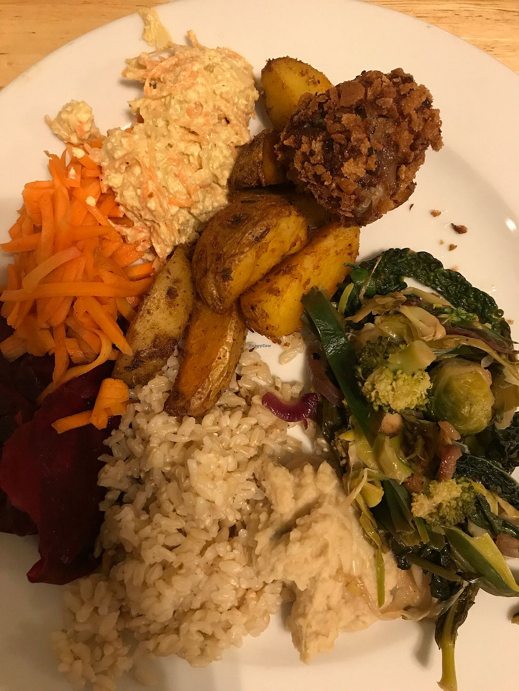 "Photo of Lekker GEC  by <a href=""/members/profile/The%20London%20Vegan"">The London Vegan</a> <br/>Vege plate  <br/> February 24, 2018  - <a href='/contact/abuse/image/601/363275'>Report</a>"