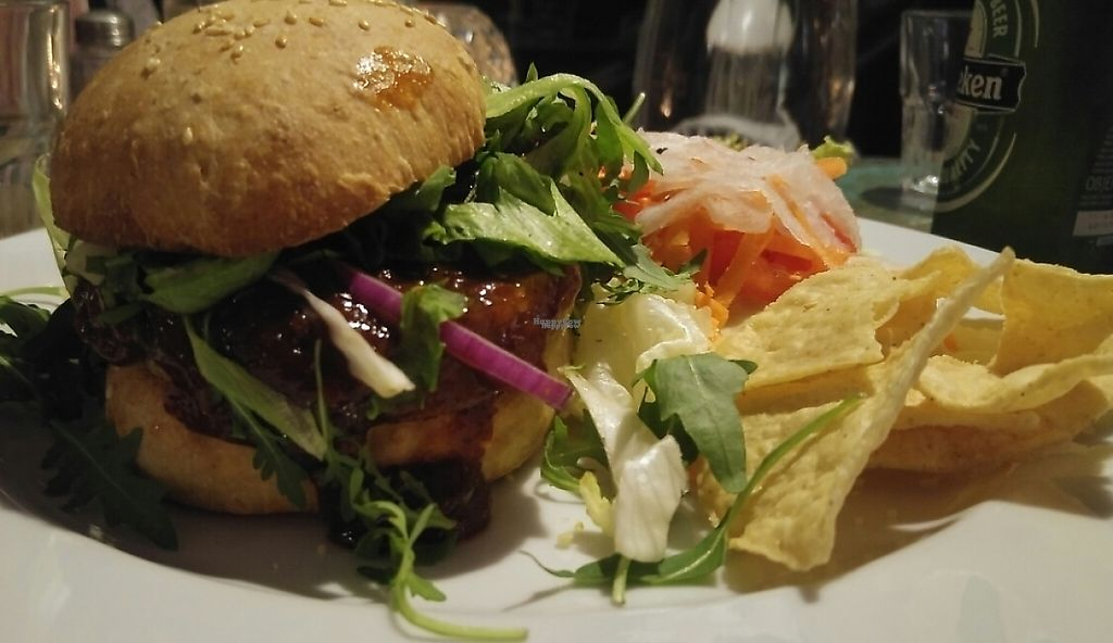 "Photo of Radost FX Cafe  by <a href=""/members/profile/OshriVeg"">OshriVeg</a> <br/>Vegan burger  <br/> December 18, 2016  - <a href='/contact/abuse/image/609/236324'>Report</a>"
