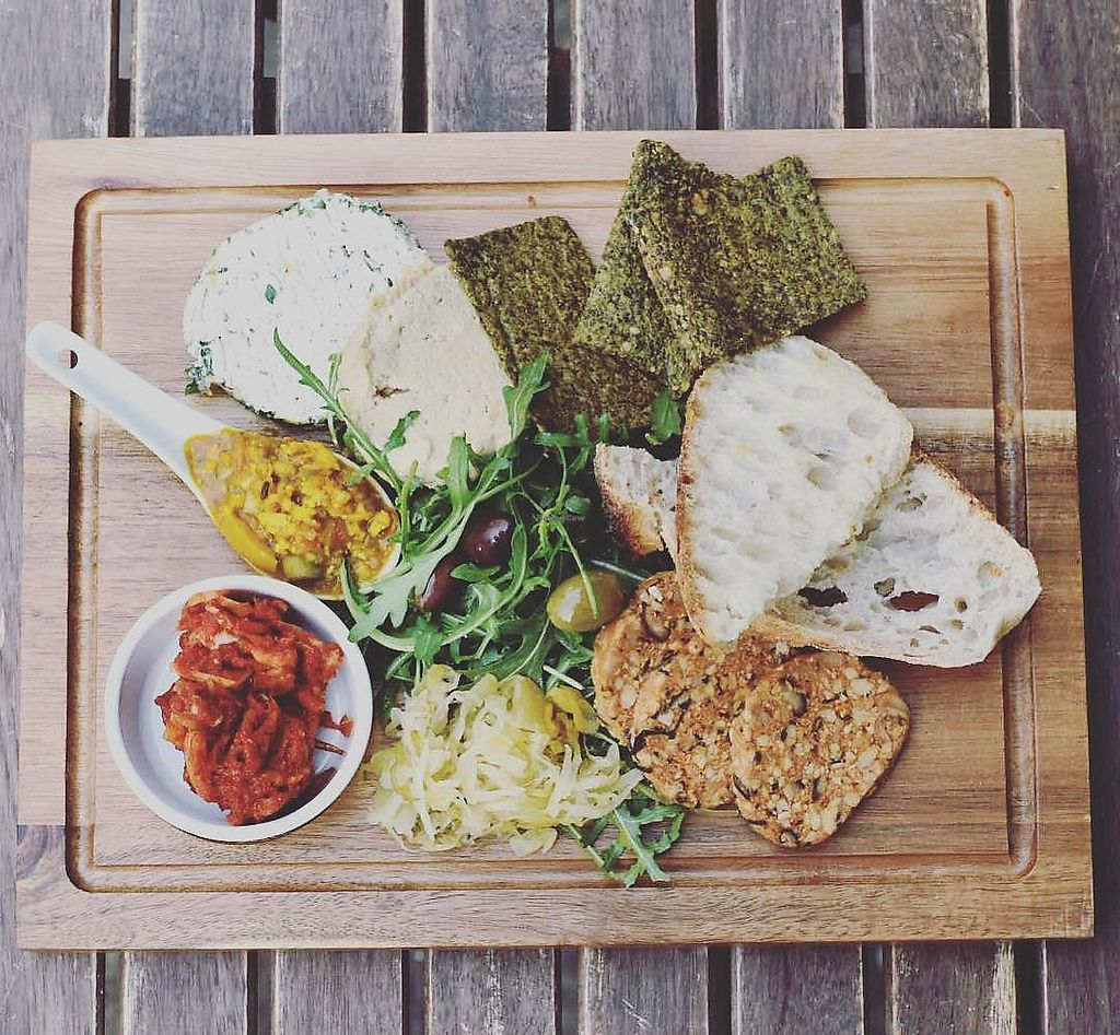 """Photo of Infinity Foods Kitchen  by <a href=""""/members/profile/infinityfoodskitchen"""" class=""""title__title"""">infinityfoodskitchen</a> <br/>Organic artisan platter <br/> July 19, 2018  - <a href='/contact/abuse/image/623/434569'>Report</a>"""