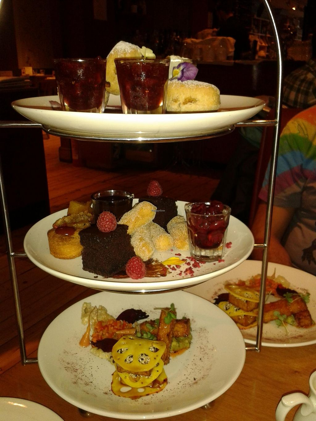 """Photo of Terre a Terre  by <a href=""""/members/profile/jennyc32"""">jennyc32</a> <br/>Vegan afternoon tea <br/> April 28, 2015  - <a href='/contact/abuse/image/625/100544'>Report</a>"""