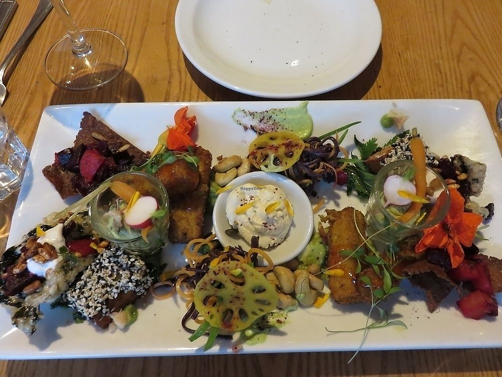 """Photo of Terre a Terre  by <a href=""""/members/profile/TrudiBruges"""">TrudiBruges</a> <br/>vegan tapas platter, £24,50 Terre a Terre <br/> November 28, 2017  - <a href='/contact/abuse/image/625/330093'>Report</a>"""