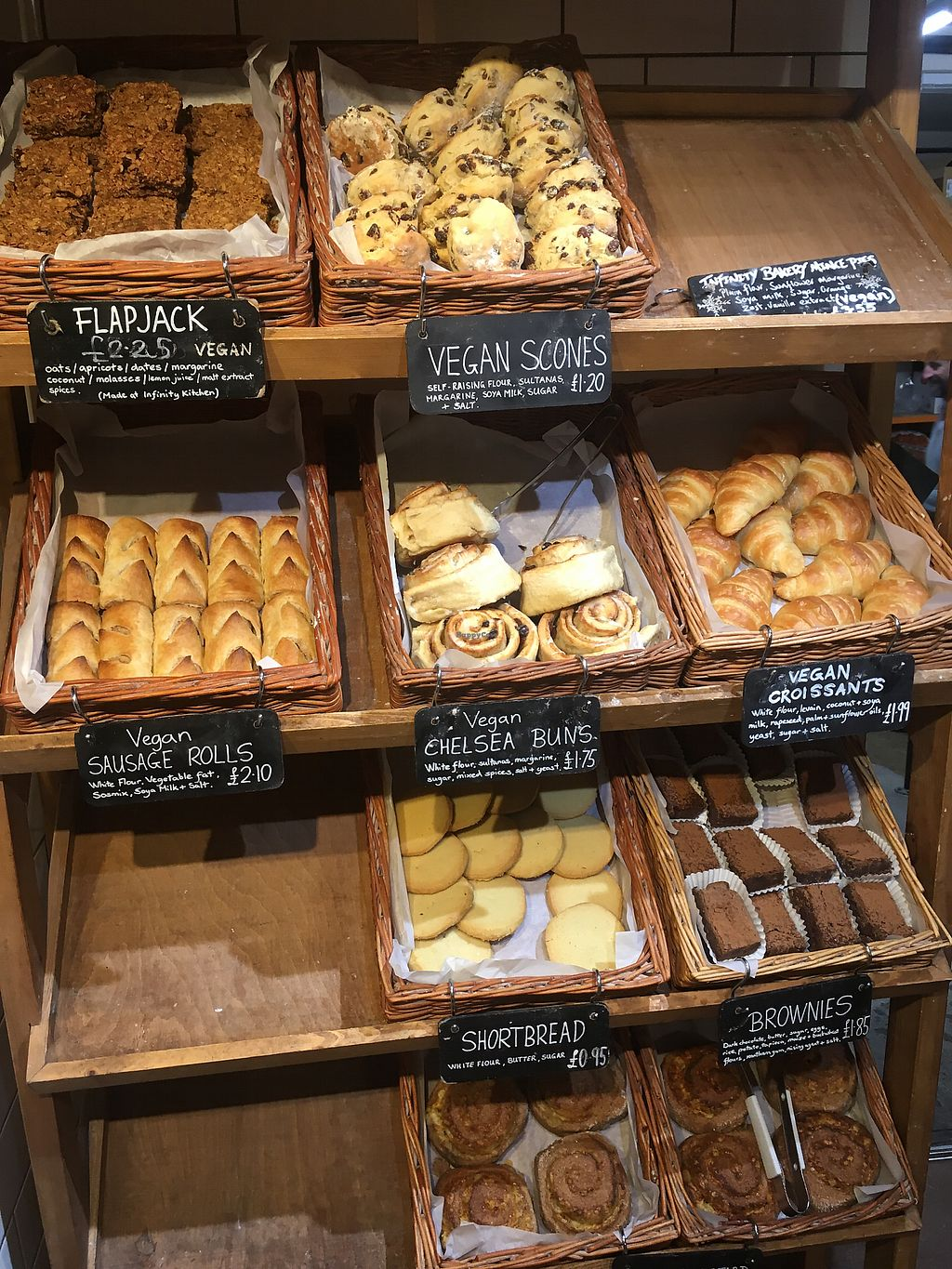 "Photo of Infinity Foods  by <a href=""/members/profile/Tonivegan"">Tonivegan</a> <br/>Pastries  <br/> November 24, 2017  - <a href='/contact/abuse/image/628/328793'>Report</a>"