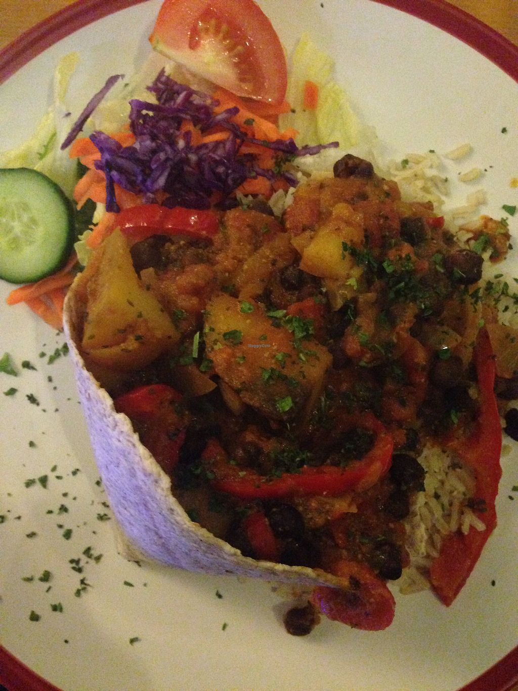 """Photo of Rainbow Vegetarian Cafe  by <a href=""""/members/profile/EIIie"""">EIIie</a> <br/>Curry <br/> August 1, 2017  - <a href='/contact/abuse/image/630/287524'>Report</a>"""